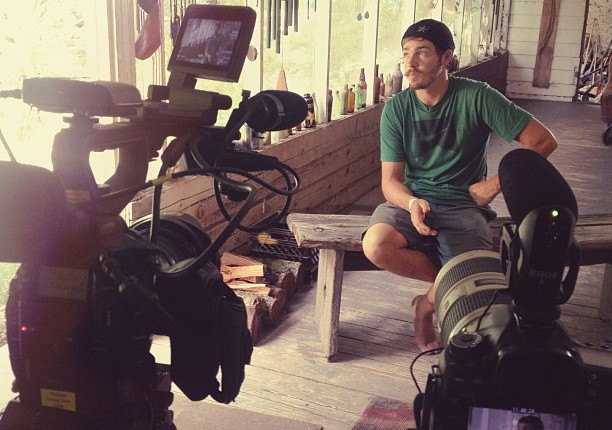 Interviewing-Ben-Horan-for-the-@rockstarenergy-retention-wakeskate-contest.-@travisvisual-canon-c300